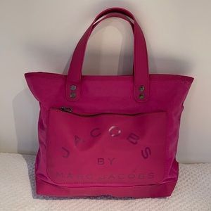 Jacobs by Marc Jacobs cotton pvc tote